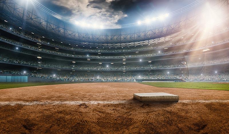 Angels Stadium at Anaheim California
