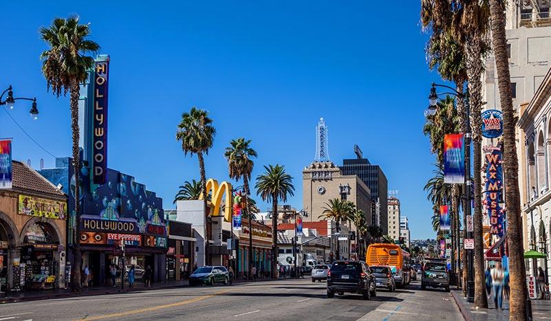 Hollywood Los Angeles California
